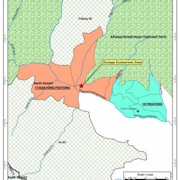 Map Dzongu