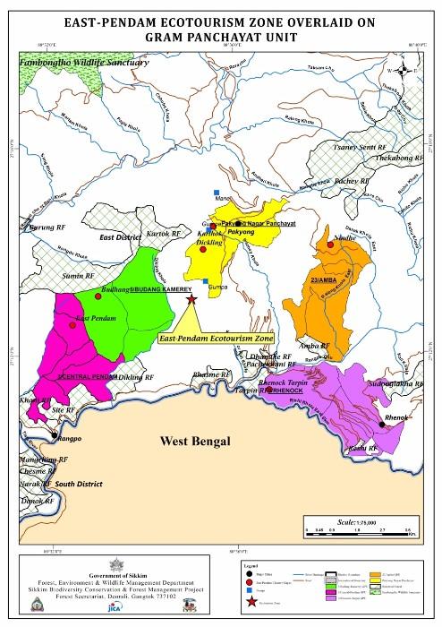 Map East Pandem