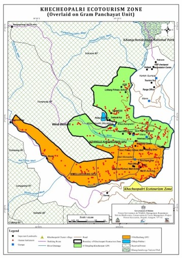 Map Khechodpalri