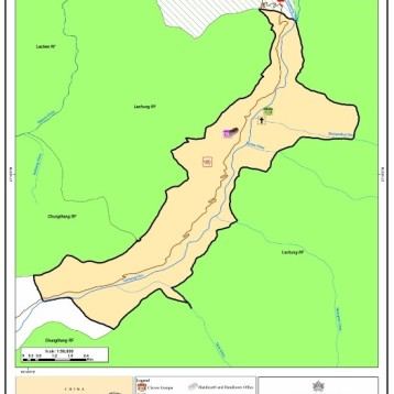 Map Lachung