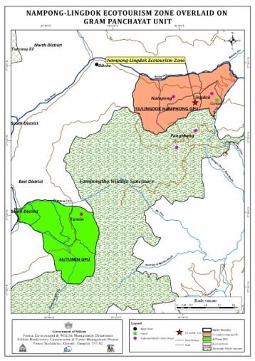 Map Nampong Lingdok
