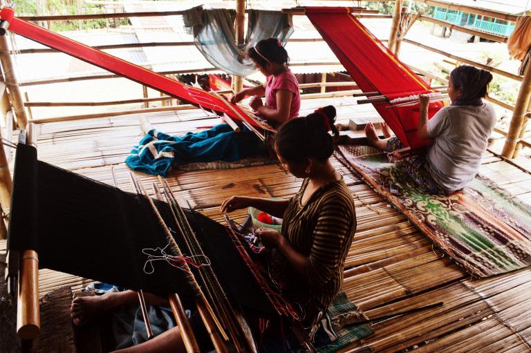 Roing-weaver