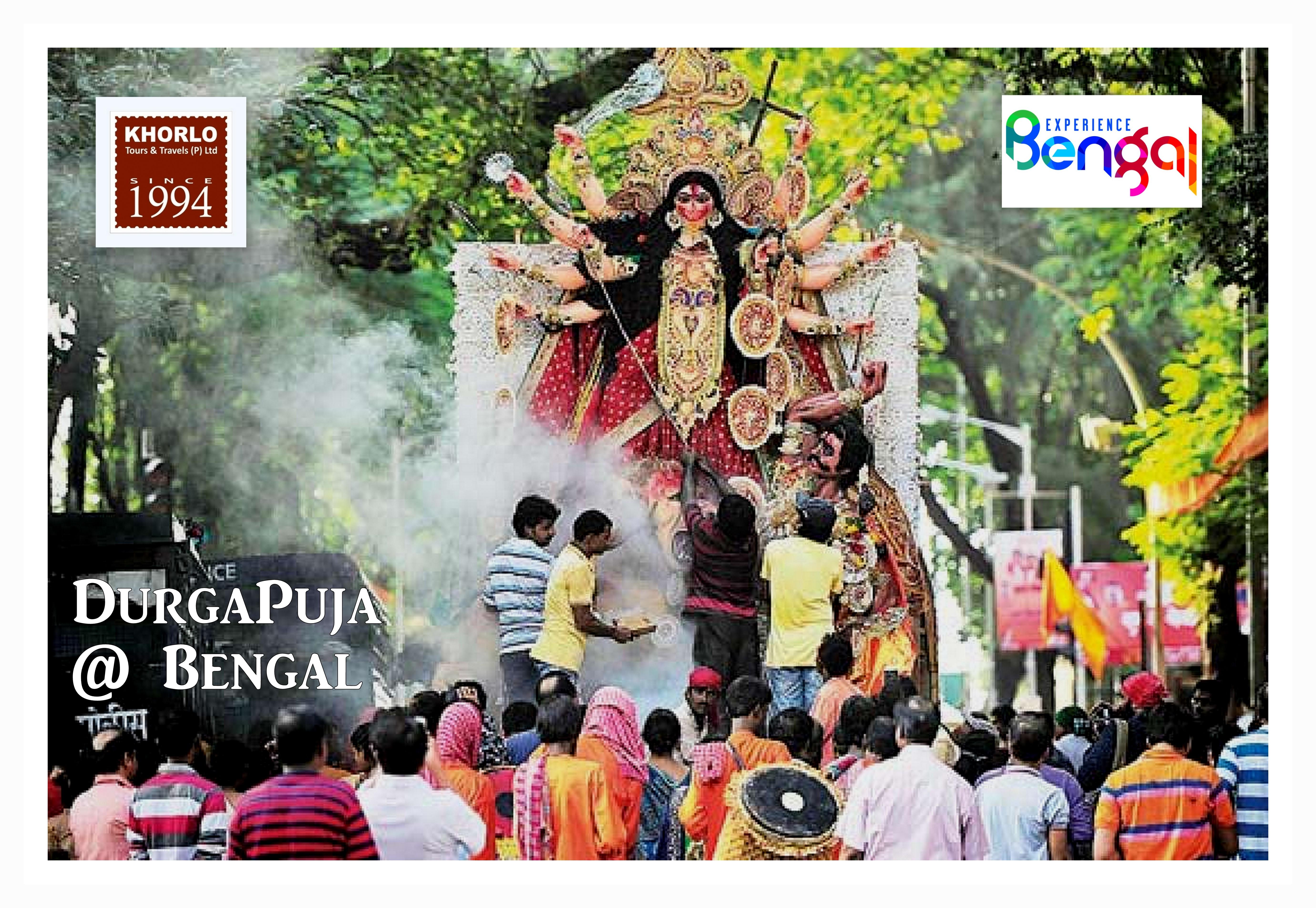 Durgapuja at Bengal